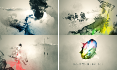 Rugby World Cup 2011 ITV Sport Motion Graphic Titles