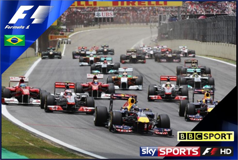 Live Formula One Grand Prix Streaming
