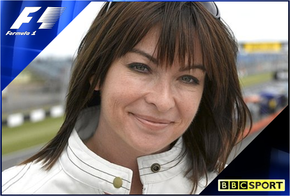 FORMULA 1: Suzi Perry becomes the new face of BBC F1 – Sport On The Box